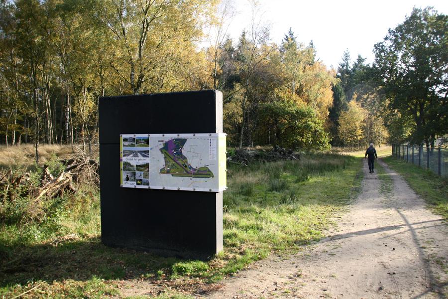 Informatiepaneel vliegbasis Soesterberg