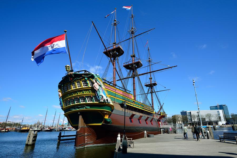 VOC schip De Amsterdam - Het Scheepvaart Museum
